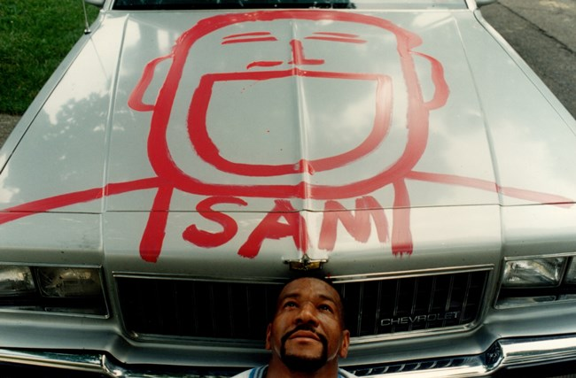 Tyree and Sam Car, 1995