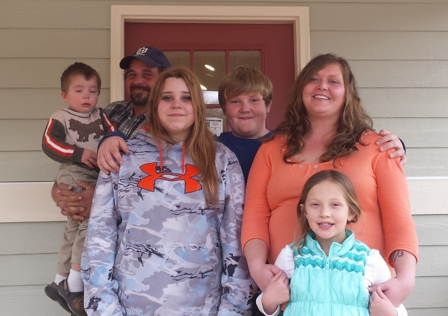 Williams family's home completed just in time for the new year