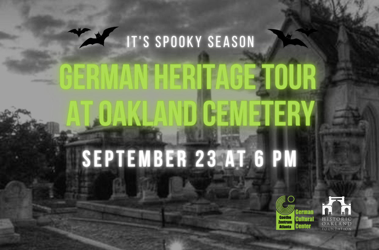 German Heritage Tour at Oakland Cemetery