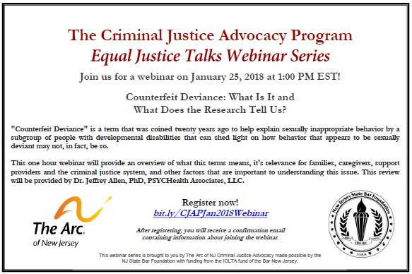 Disability Advocates Concerned By Plan >> Criminal Justice Advocacy