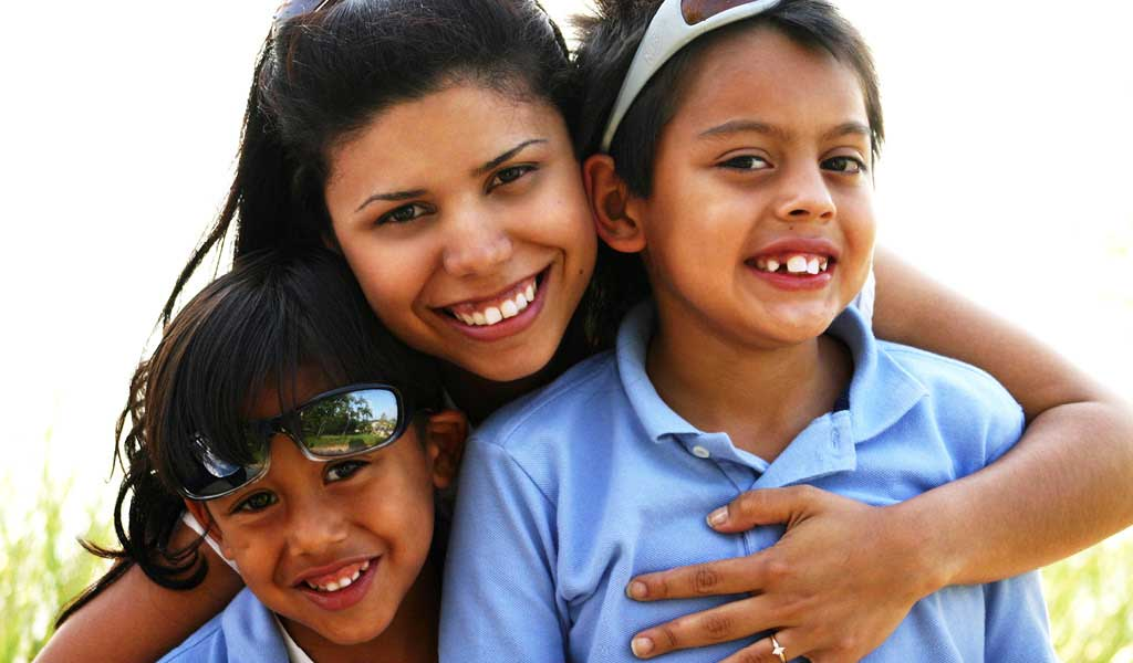 Helping Children and Their Families Grow Healthy and Strong