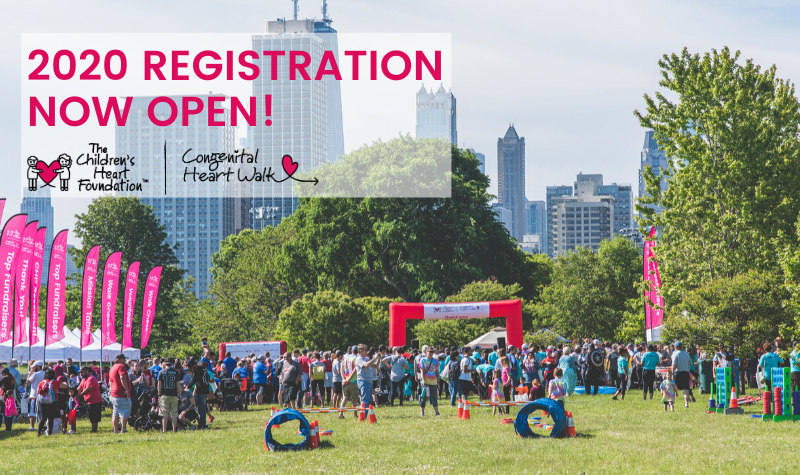 Register to join us and fundraise as we #WalkForCHDResearch again in 2020!