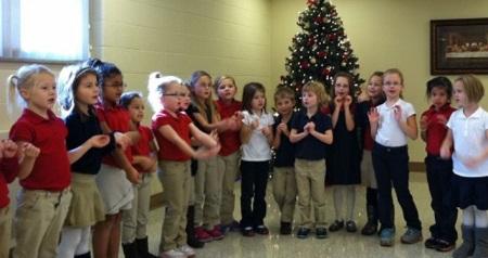 Sacred Heart Kindergarten Christmas Visit