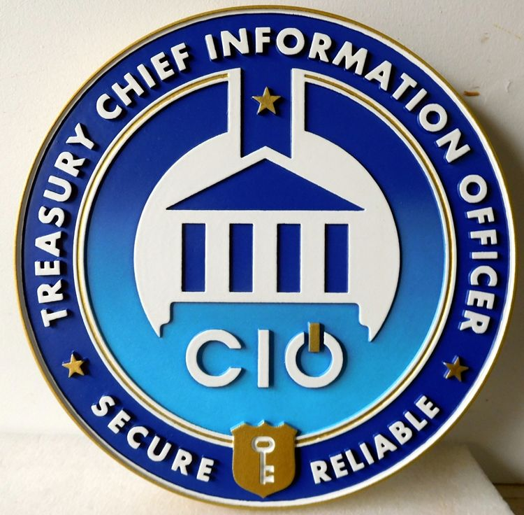 CD9080 - Seal of Chief Information Officer of the Treasury