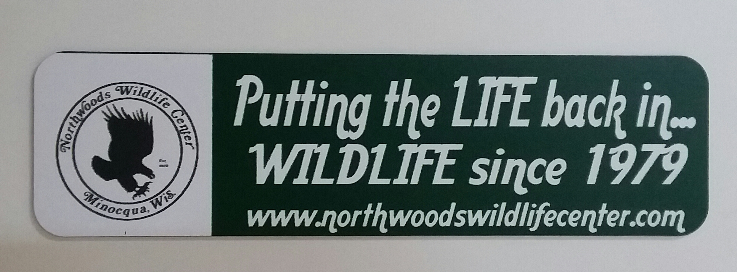 NWC Bumper Magnet $5 + $2 shipping