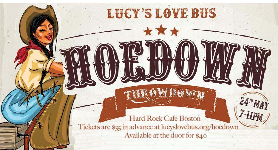 Yeehaw! Love Bus Hoedown Throwdown May 24th!