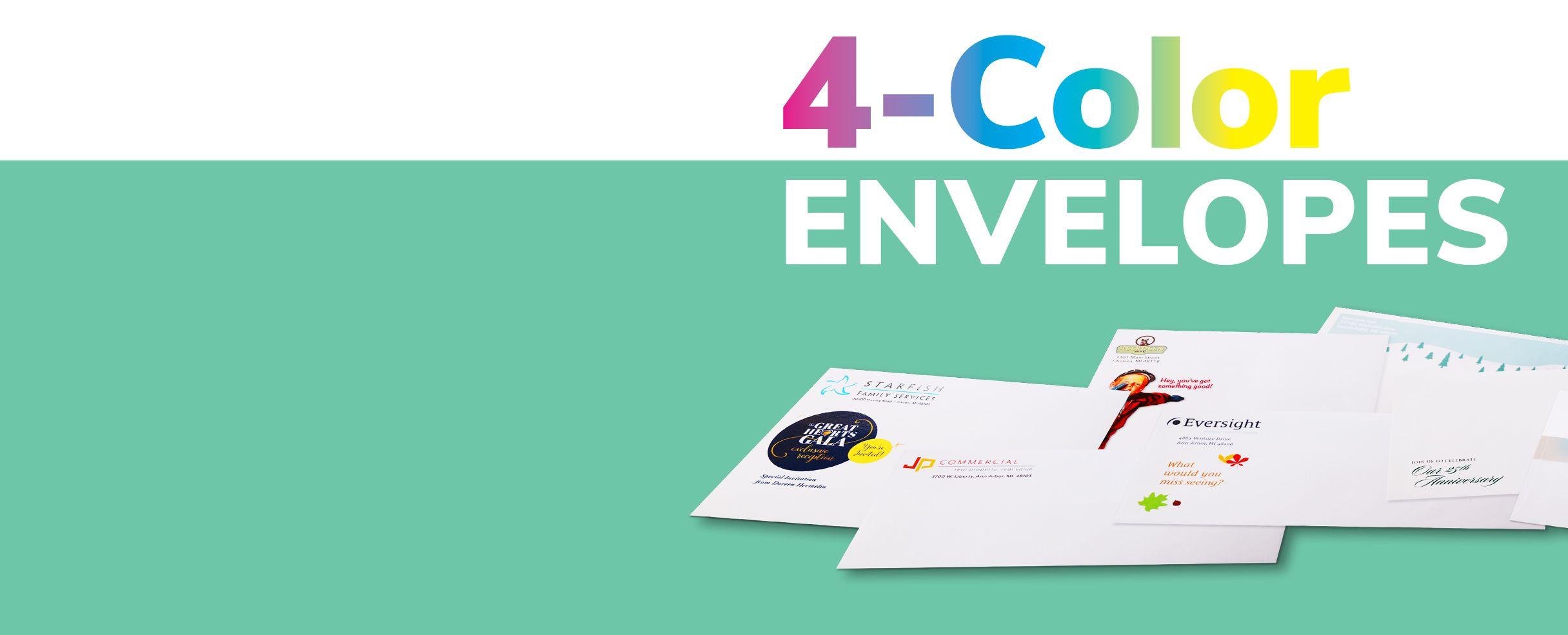 Short Run Full-Color Envelopes