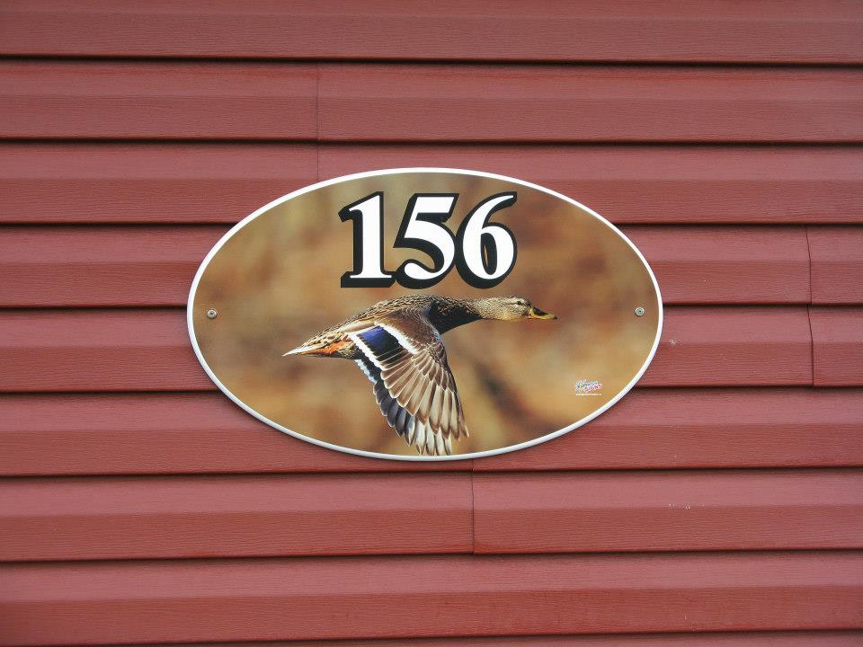 Custom House Sign