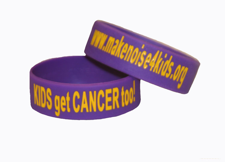 """Kids Get Cancer Too!"" Phat Bands"