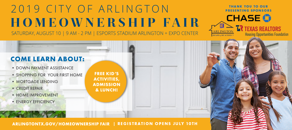2019 City of Arlington Homeownership Fair