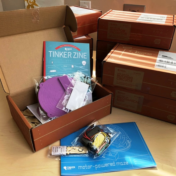 FREE Tinker Crate Sets!