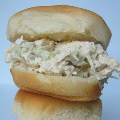 Hot Chicken Salad Sandwich