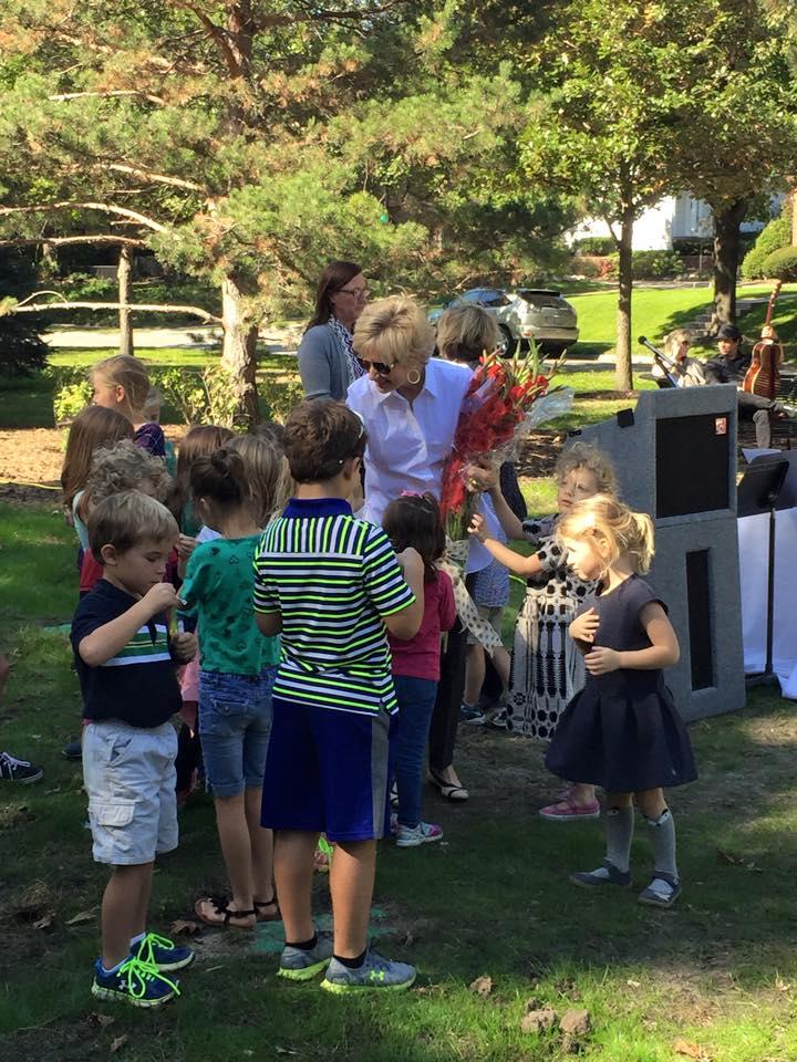 October 2015 Woodsdale Islands Dedication Event