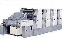 Komori Lithrone 5-20 with tower coater
