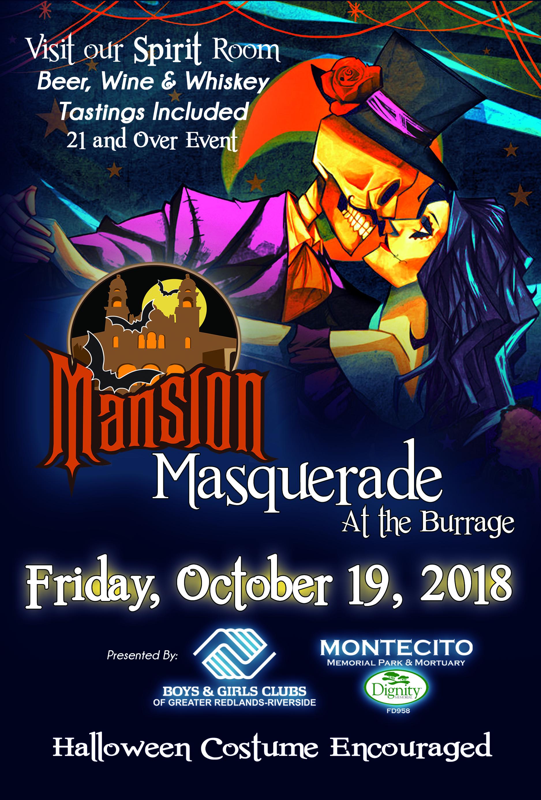 2018 Mansion Masquerade