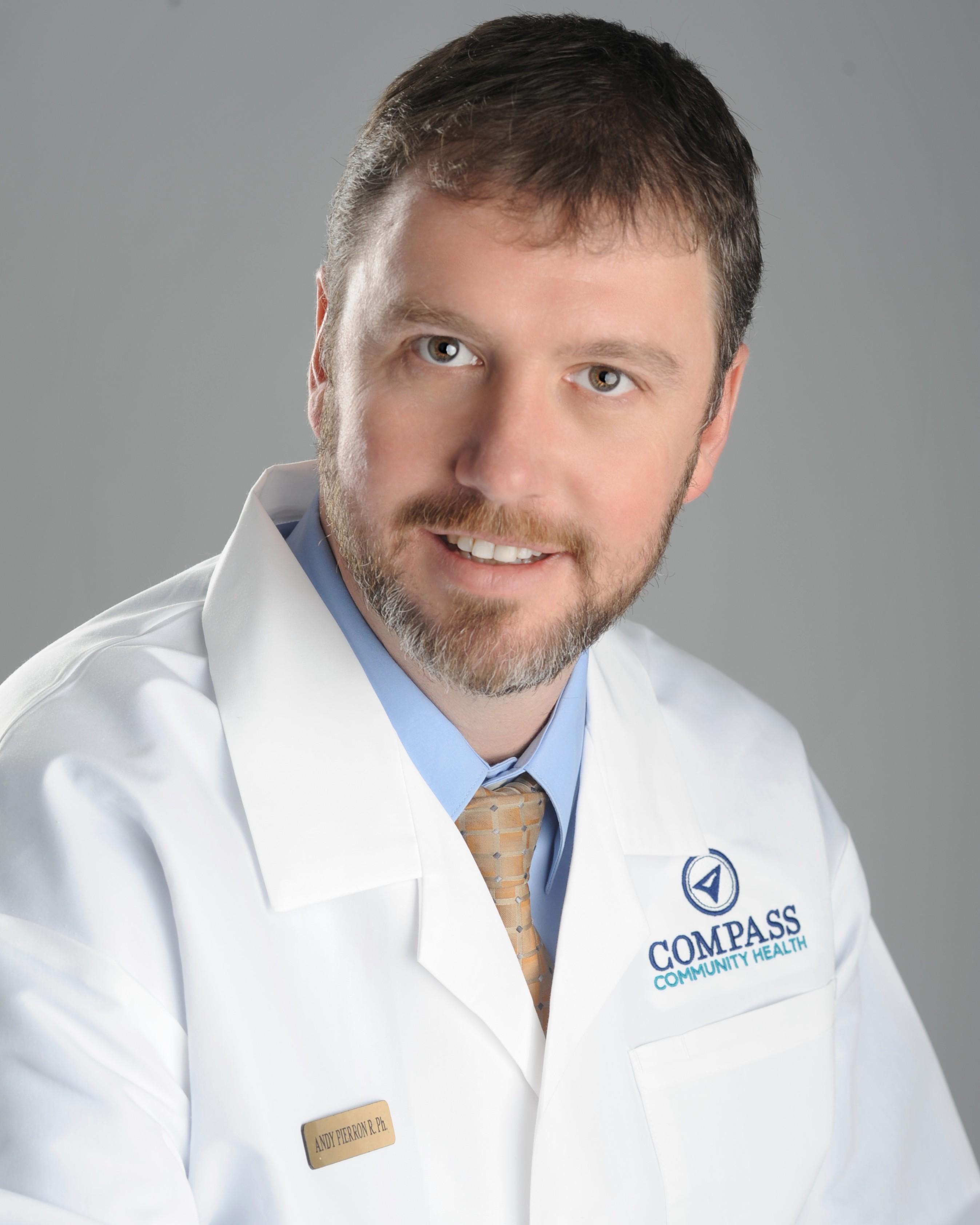 Andy Pierron, BSPharm, R.Ph.