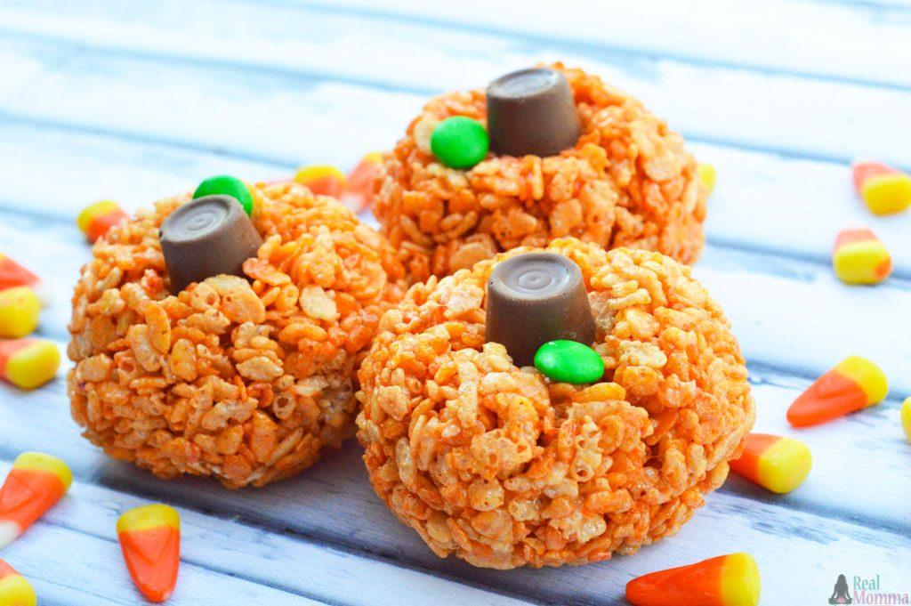 Health and Wellness - Cooking Edition: Rice Krispy Pumpkins!