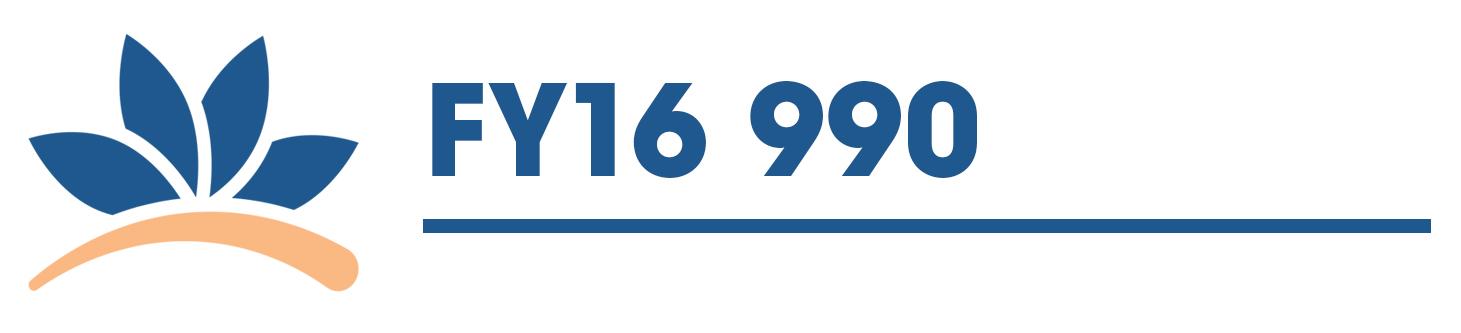 FY16 990