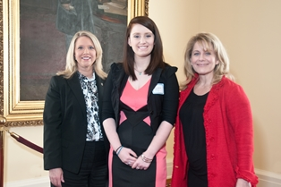 Rep. April Weaver with Elizabeth Ashley Leach & Connie Nolen