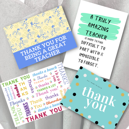 Personal Thank You Card