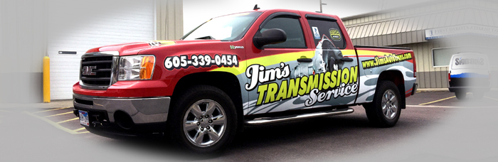 Signs Plus Wrap for Jims Trans