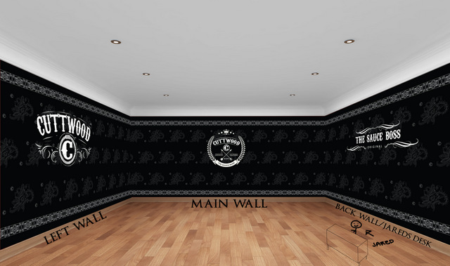 How custom wall murals are designed in Orange County