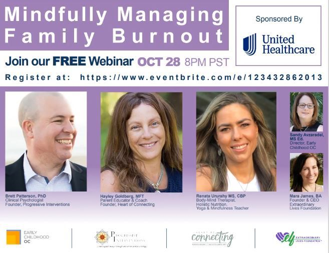 Mindfully Managing Family Burnout Webinar