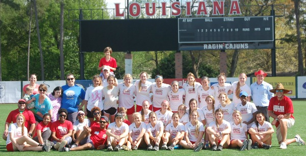 UL Ragin Cajuns Women's Soccar Team