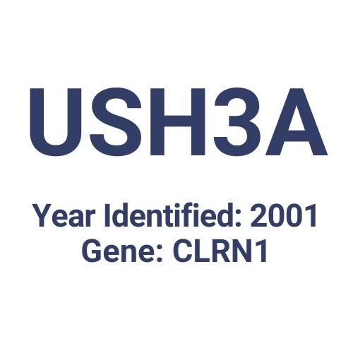 USH3A (Year Identified: 2001 | Gene: CLRN1)