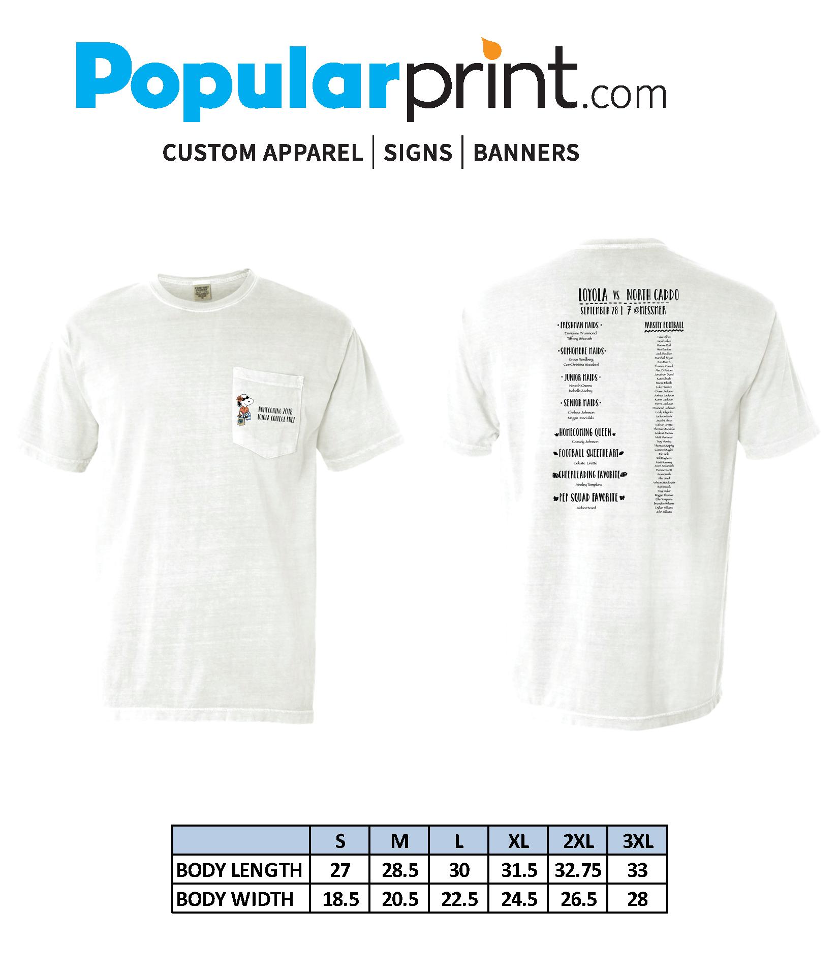 2018 Homecoming T-Shirt