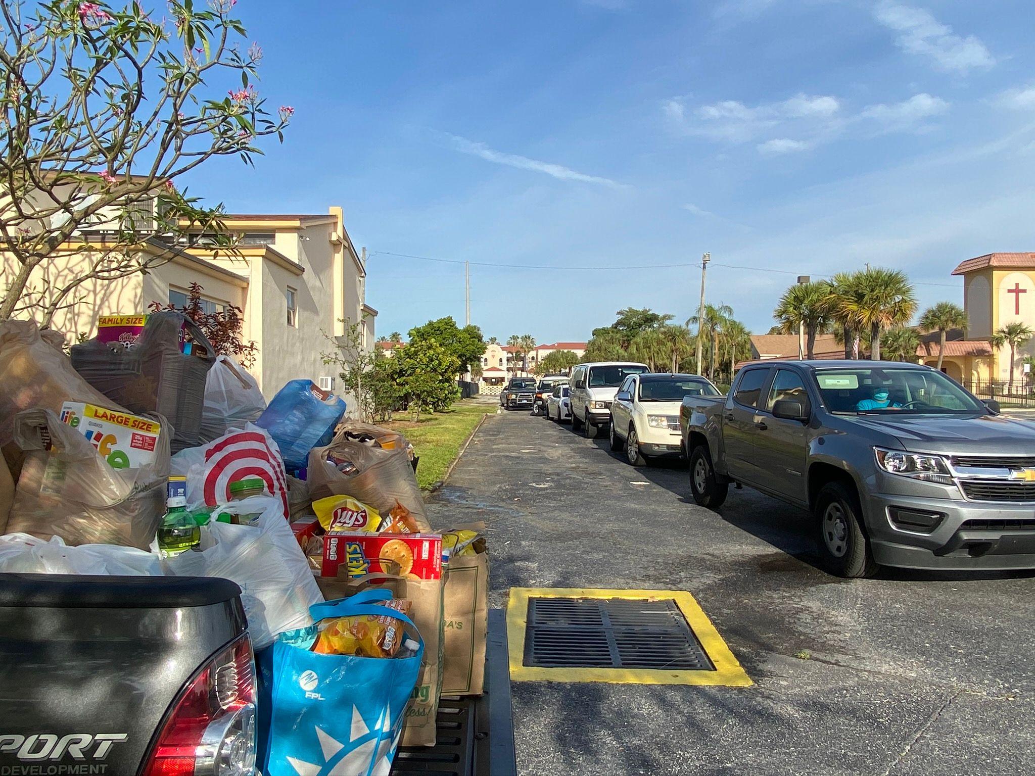 Catholic Charities Feeds Hundreds in Riviera Beach and Pahokee