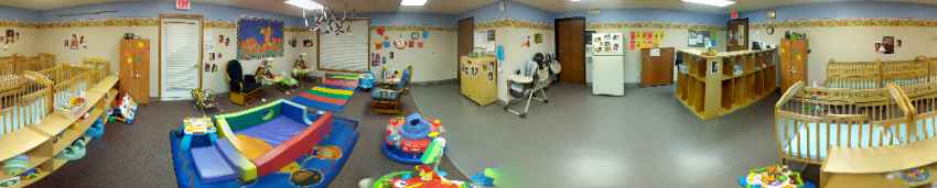 A picture of infant room at LSS Childcare & Education Services, Siuox Falls.
