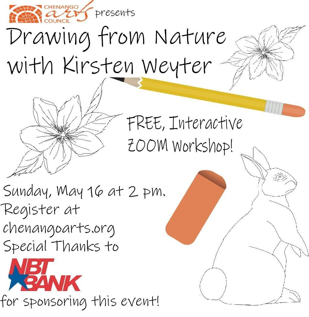 Drawing from Nature with Kirsten Weyter