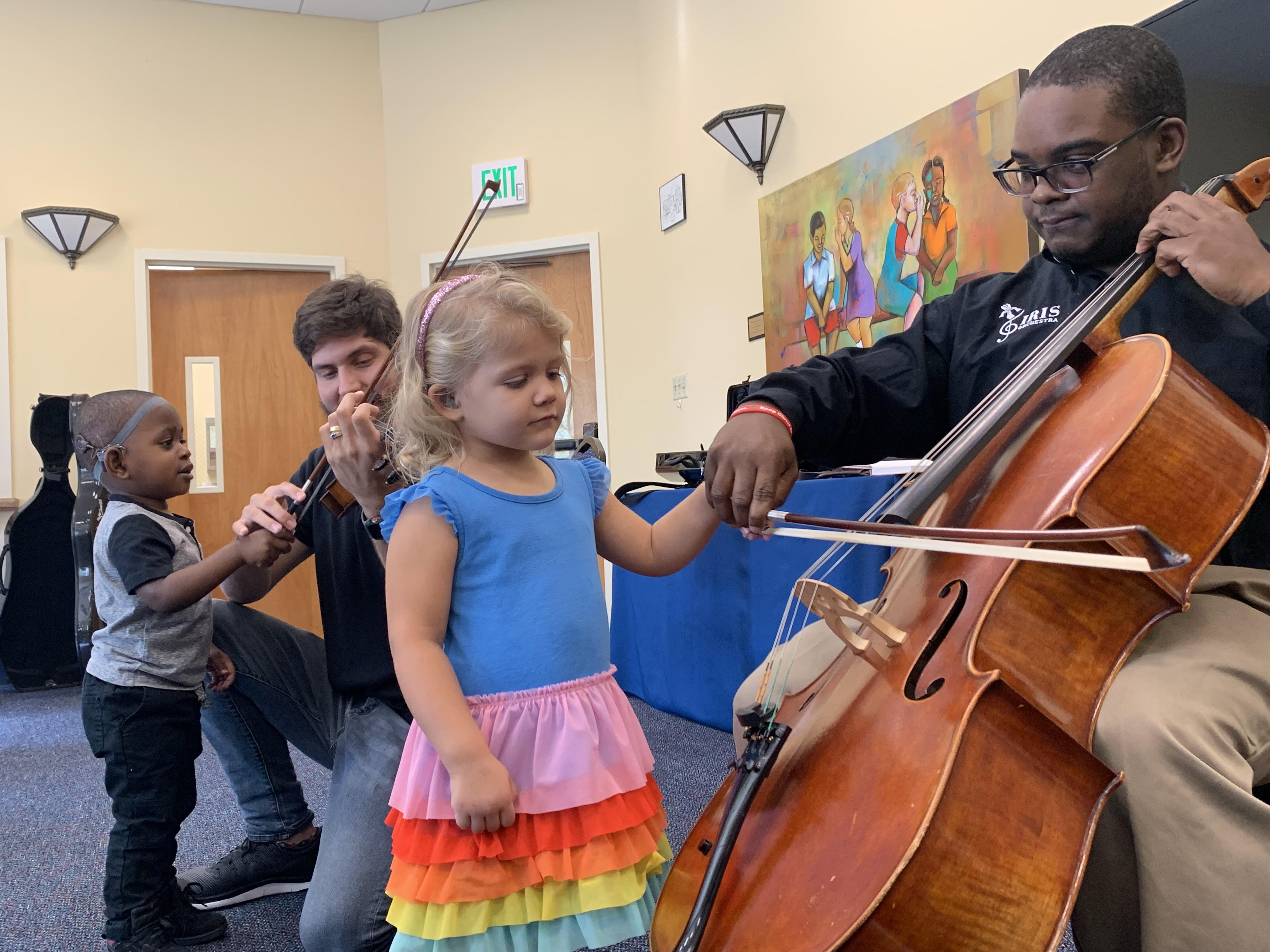 IRIS Orchestra Visits MOSD