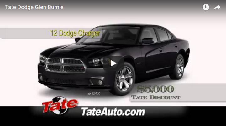 Tate Dodge Glen Burnie: Video