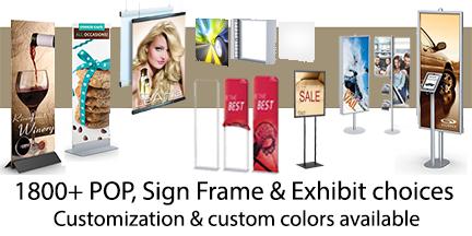 POP & Retail Sign Displays