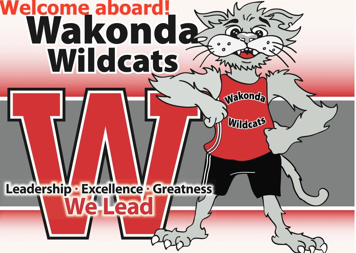 Welcome Aboard Wakonda