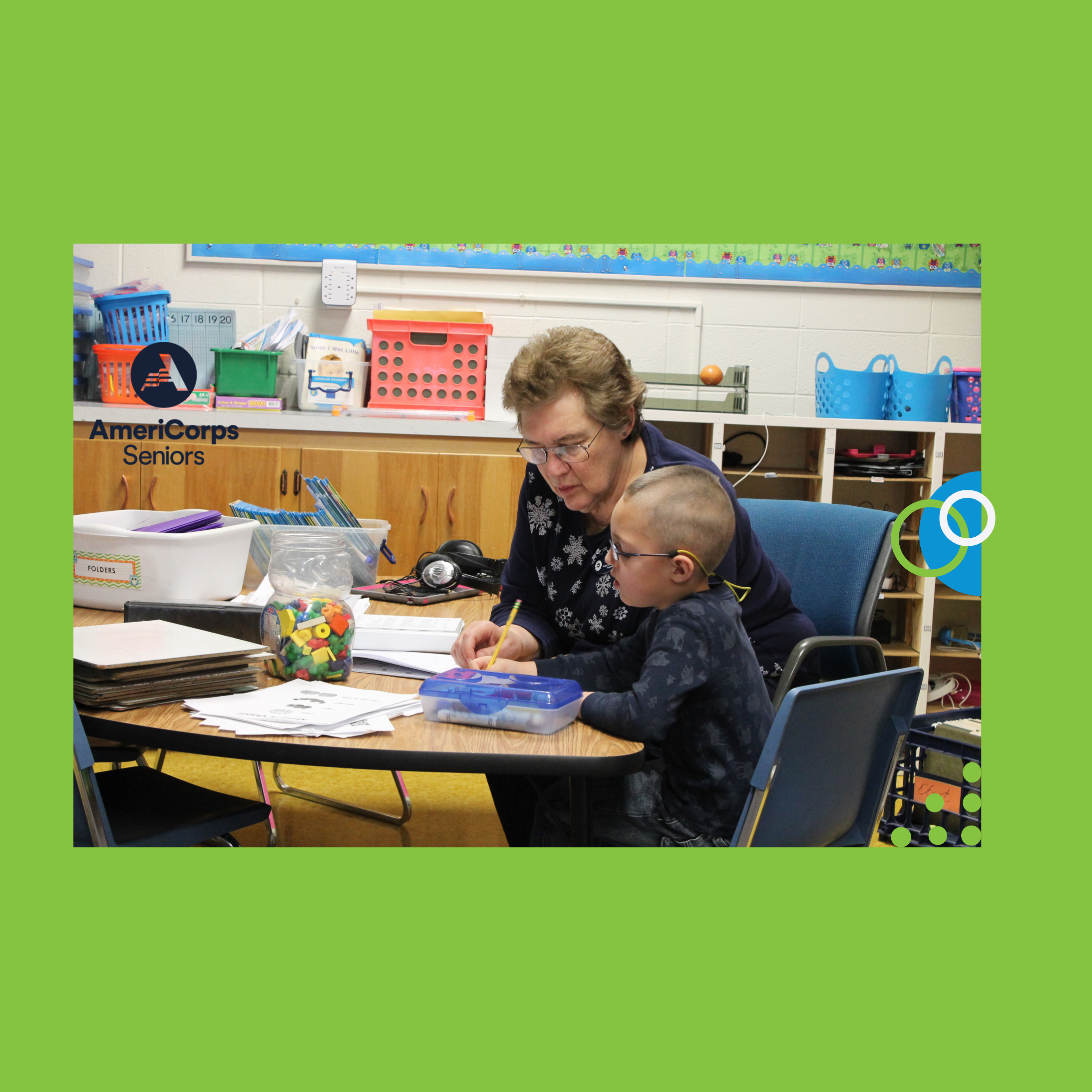 Volunteer with AmeriCorps Seniors Foster Grandparent Program