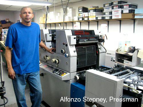 Alfonzo Stepney, Pressman