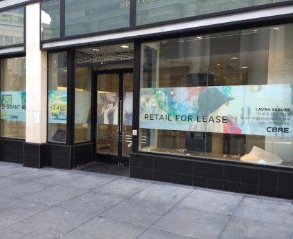 Window Signage/Exterior Signage