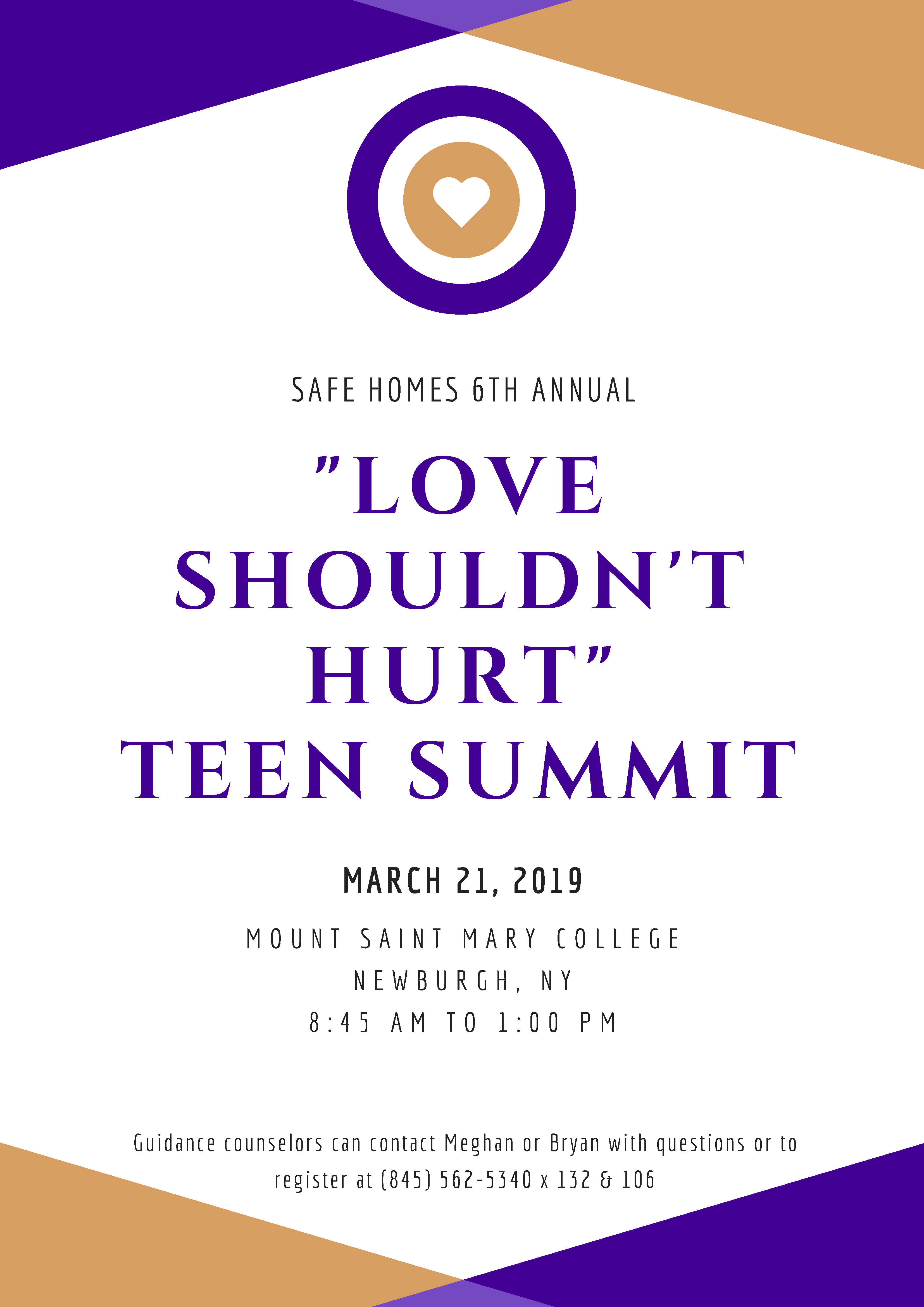 "6th Annual ""Love Shouldn't Hurt"" Teen Summit"
