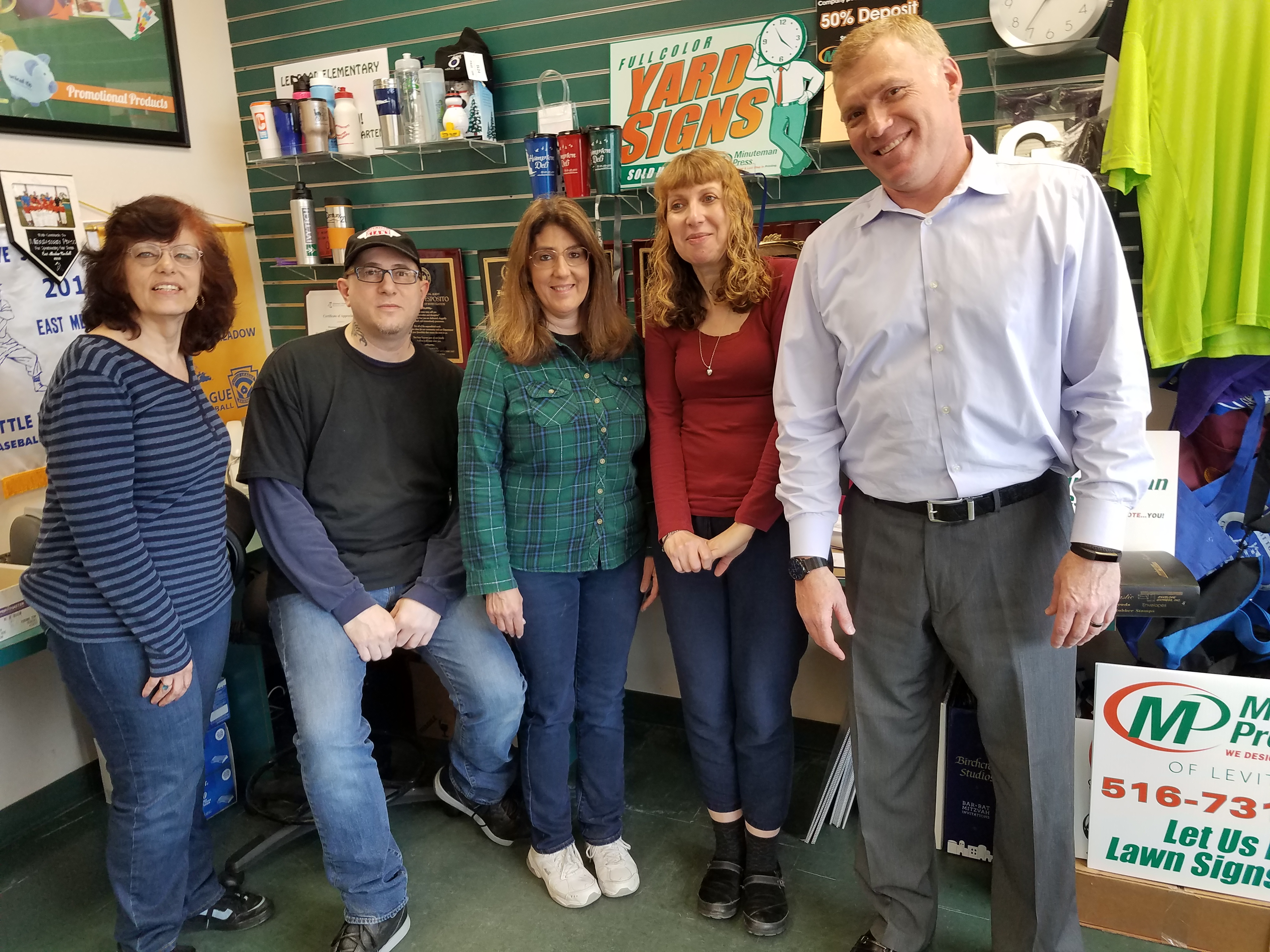 Minuteman Press Franchise in Levittown, NY Acquires Independent Printing Business Fullstop Printing, Expands Capabilities for Customers