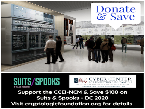 Donate to the CCEI-NCM & Save on Suits & Spooks-DC 2020 Registration