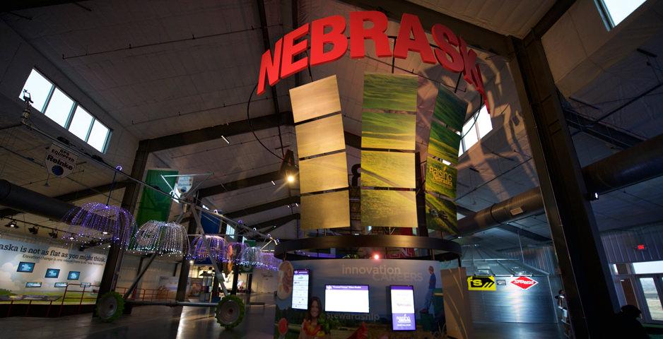 Visit Raising Nebraska, an immersive and interactive agricultural exhibit.