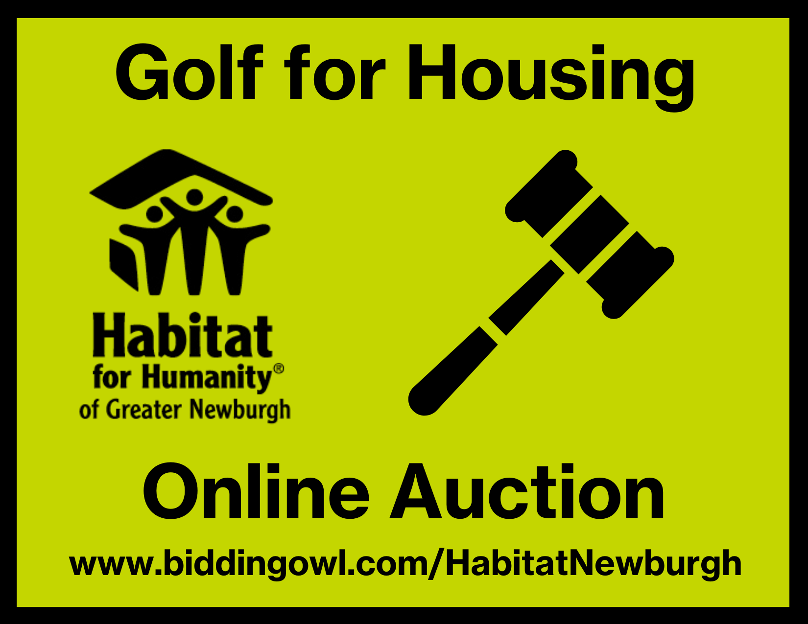 Habitat for Humanity of Greater Newburgh Golf for Housing Auction