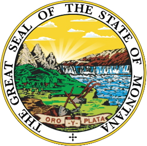 W32310 - Great Seal of Montana Wall  Plaque