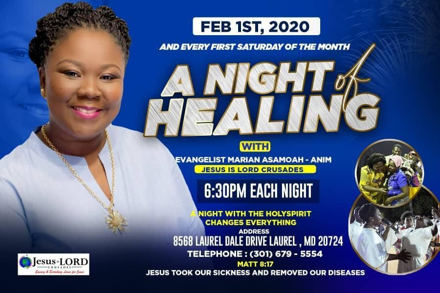 Night Of Healing