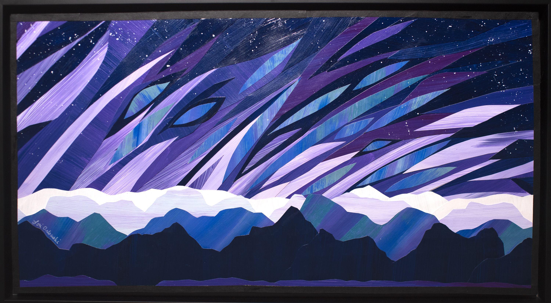 "Lori Orlowski - ""Purple Blaze"""