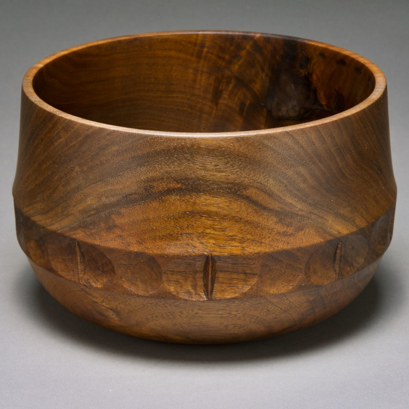 Bowl with Carved Band