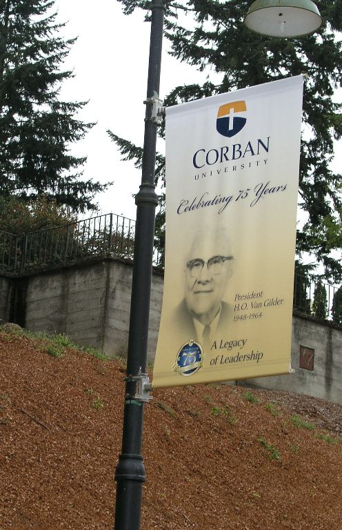 Corban College Banner